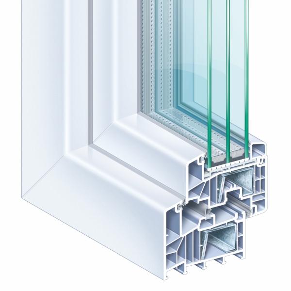Kömmerling 88+ műanyag ablak