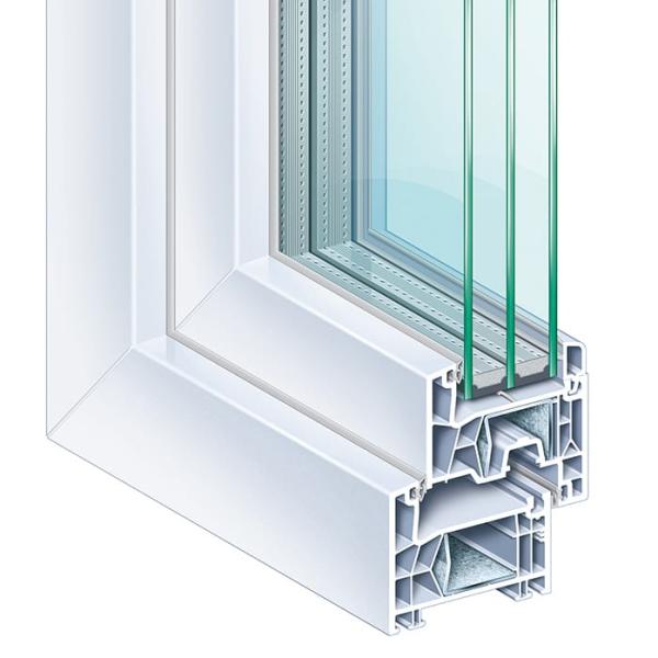 akciós Kömmerling 76 AD műanyag ablak