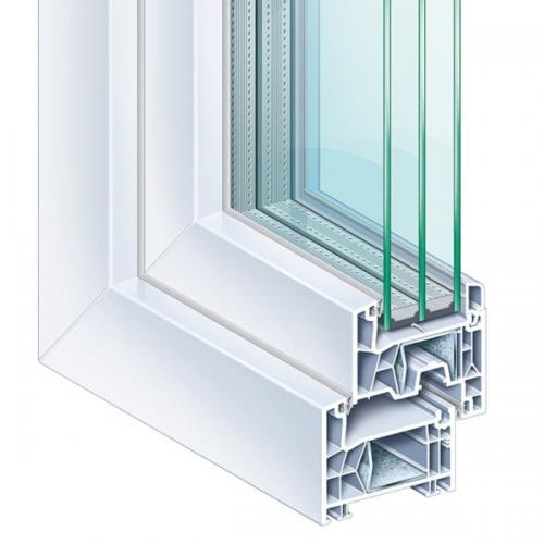 Kömmerling 76 AD műanyag ablak kép