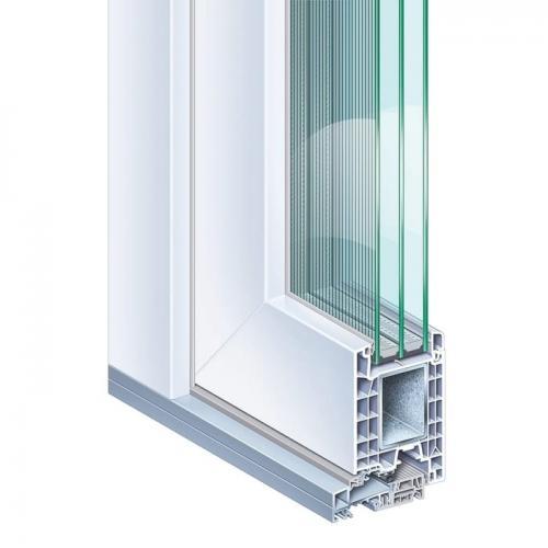 Kömmerling 76 műanyag bejárati ajtó kép