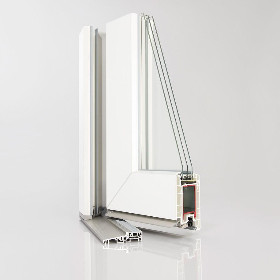 akciós Synego műanyag bejárati ajtók