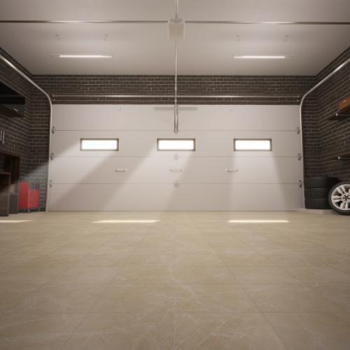 Szekcionált garázskapu kép